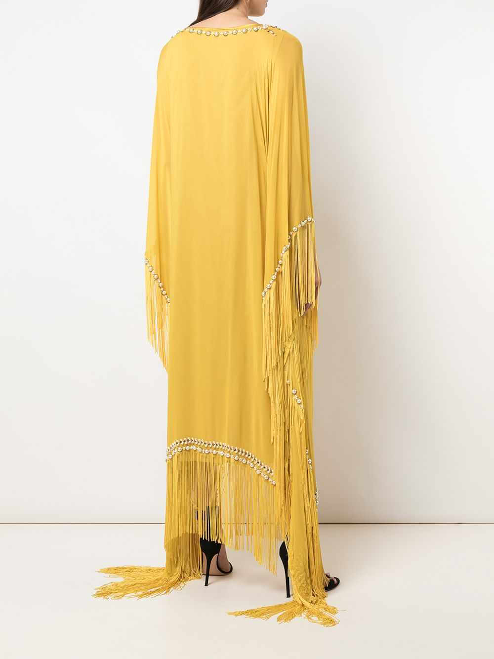 Fringe Beaded Caftan