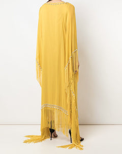 Load image into Gallery viewer, Fringe Beaded Caftan