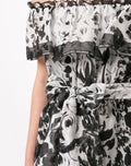 Load image into Gallery viewer, Printed Off The Shoulder Maxi Dress