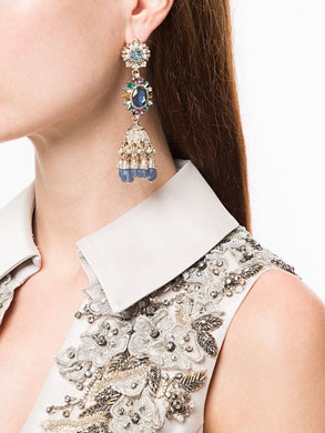 Drama Embellished Earrings