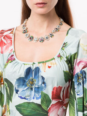 Regal Affair Embellished Necklace