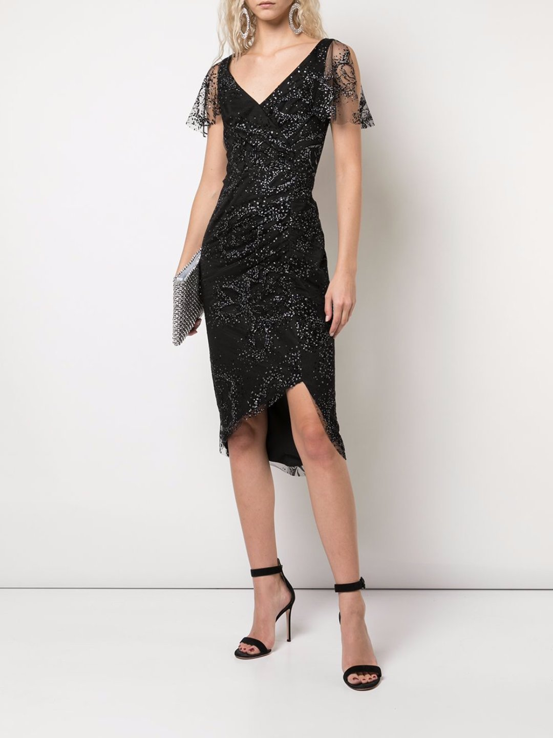 Glitter Tulle Cocktail Dress