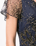 Load image into Gallery viewer, Glitter Embellished Short Dress