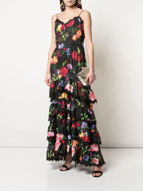 Blouson Tiered Day Gown