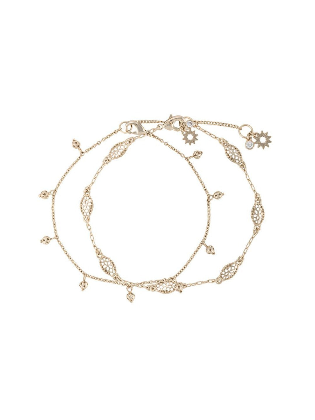 Filigree Anklet Set