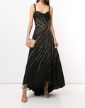 Load image into Gallery viewer, Sleeveless Beaded Corset Gown