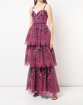 Load image into Gallery viewer, Sleeveless Eyelet Organza Gown