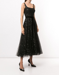 Load image into Gallery viewer, Sleeveless Glitter Tulle Dress
