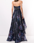 Load image into Gallery viewer, Sequin Embellished High-Low Gown