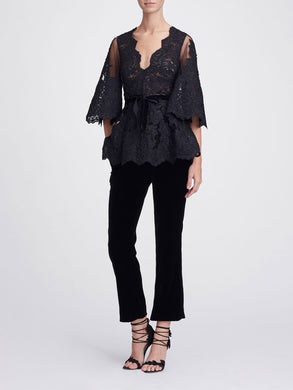 Corded Lace Blouse