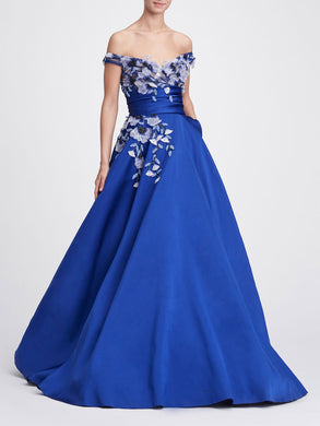 Off Shoulder Ballgown
