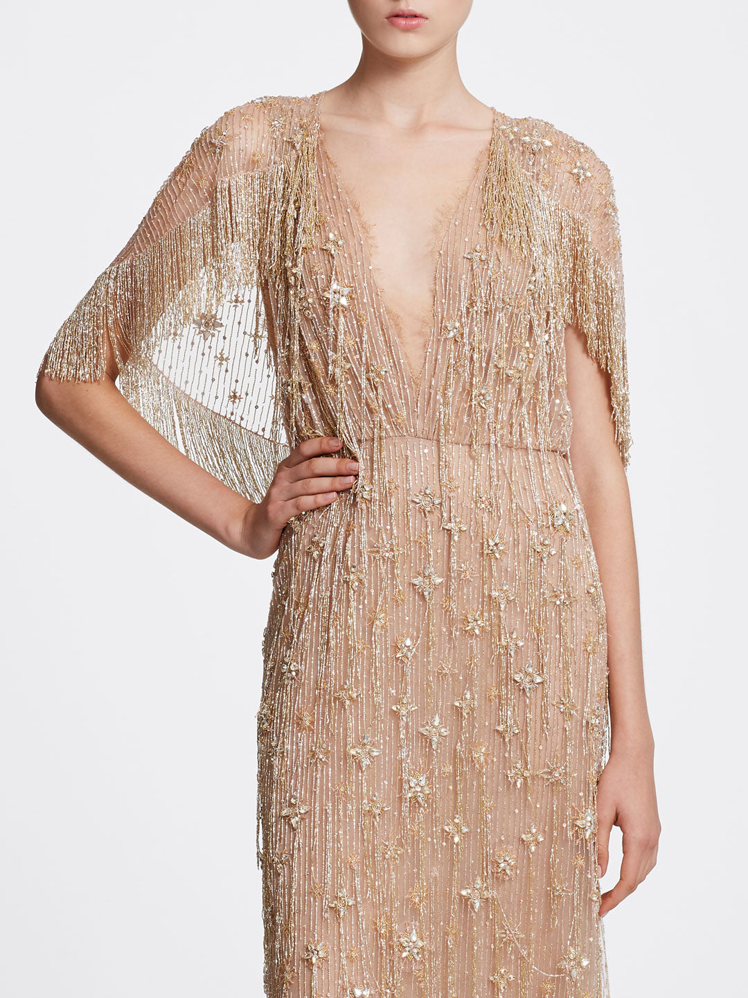 Crystal Fringe Dress