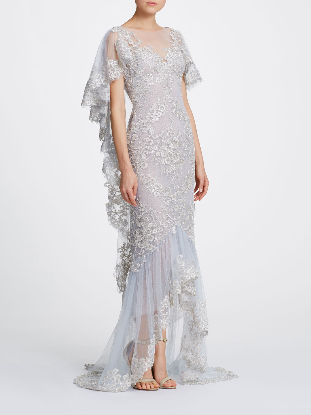 Corded Lace Gown