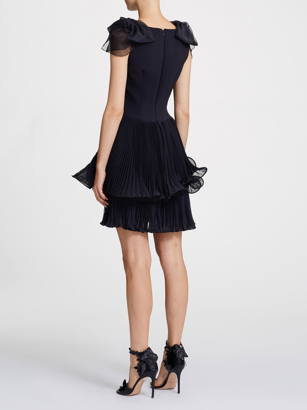 Crepe Cocktail Dress
