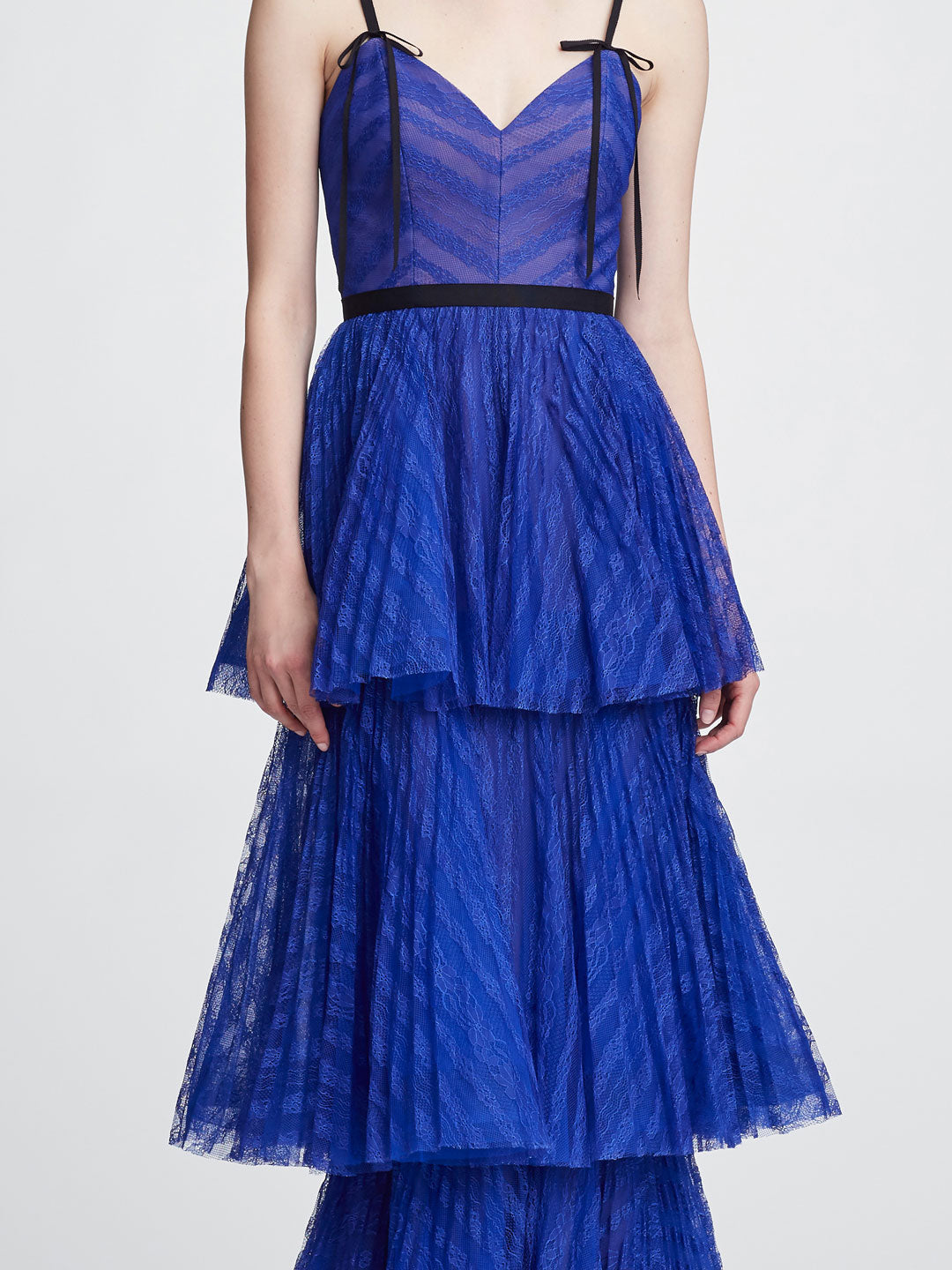 Sleeveless Lace Gown Shop Marchesa Notte