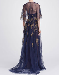 Load image into Gallery viewer, Sleeveless beaded embellished gown
