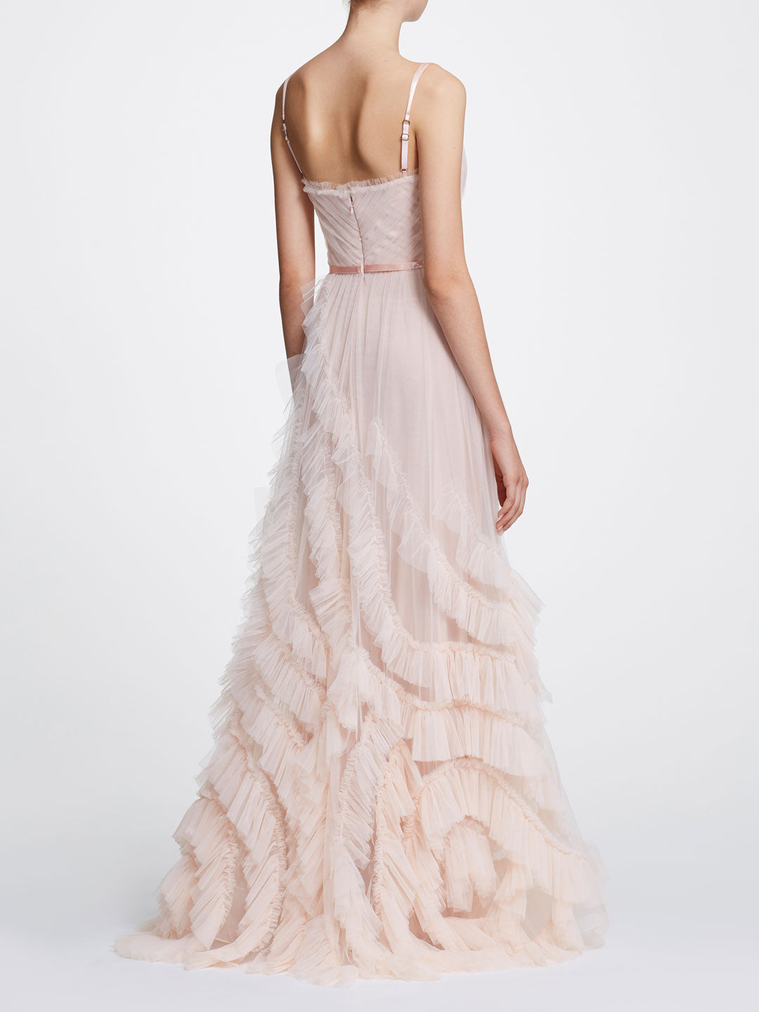 2dd5cce9 Sleeveless textured tulle gown | Shop Marchesa Notte