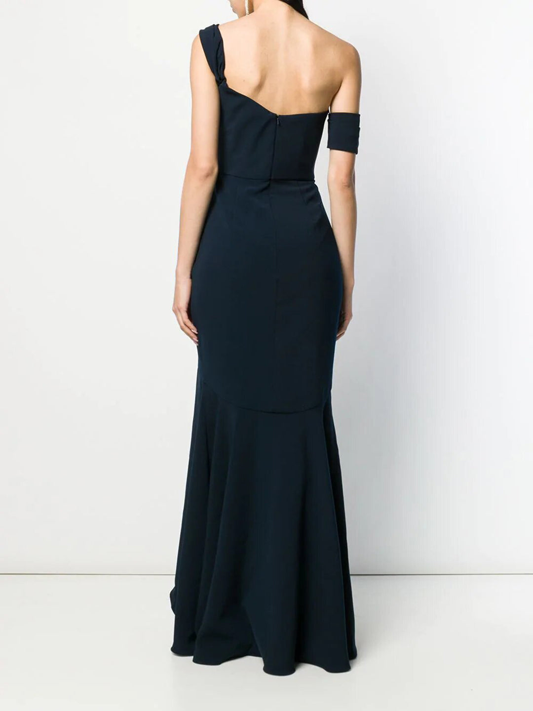 Off Shoulder High Low Gown