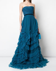 Load image into Gallery viewer, Point D'esprit Tulle Ballgown