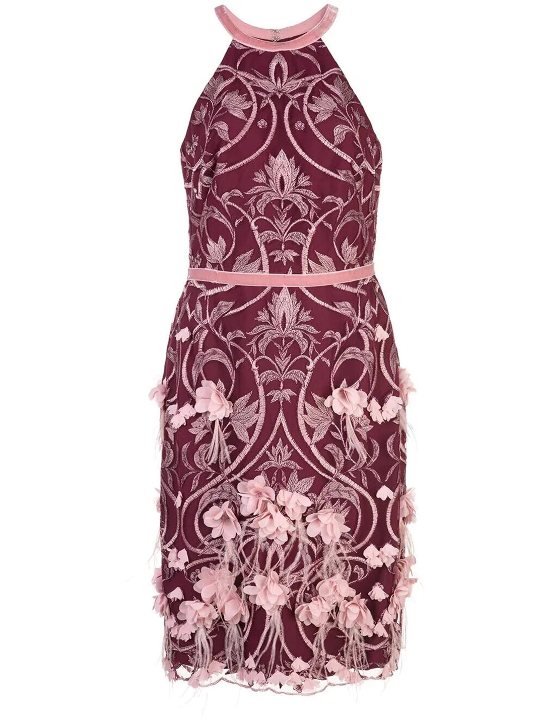 Racerback 3D Floral Feather Cocktail