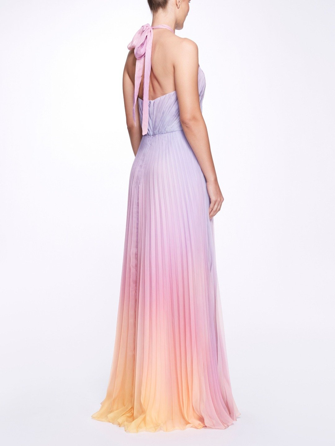 Ombre Chiffon Gown