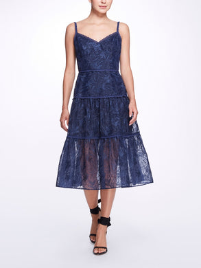 Organza Tiered Dress