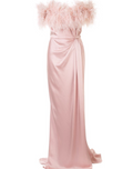 Load image into Gallery viewer, Strapless Satin Gown