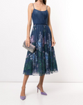 Load image into Gallery viewer, Shirred Point D'Esprit Dress