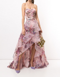 Load image into Gallery viewer, Sequin Embellished Asymmetric Gown