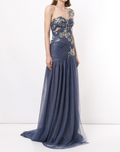 Load image into Gallery viewer, Grecian One Shoulder Gown