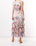 Load image into Gallery viewer, Blouson Tiered Day Gown