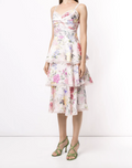Load image into Gallery viewer, Twisted Tiered Linen Day Dress