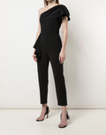 Load image into Gallery viewer, One-Shoulder Tailored Jumpsuit