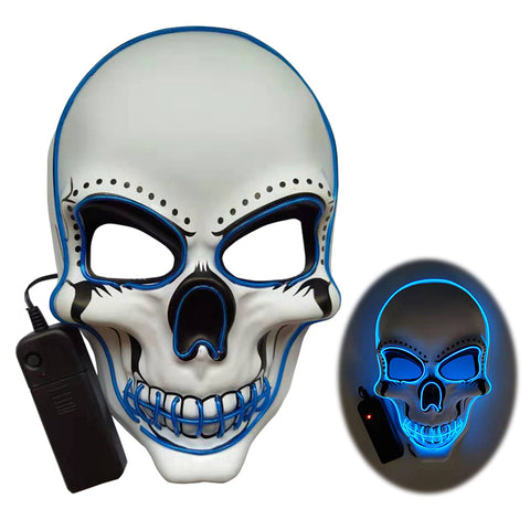 Image of Skeleton Led Mask