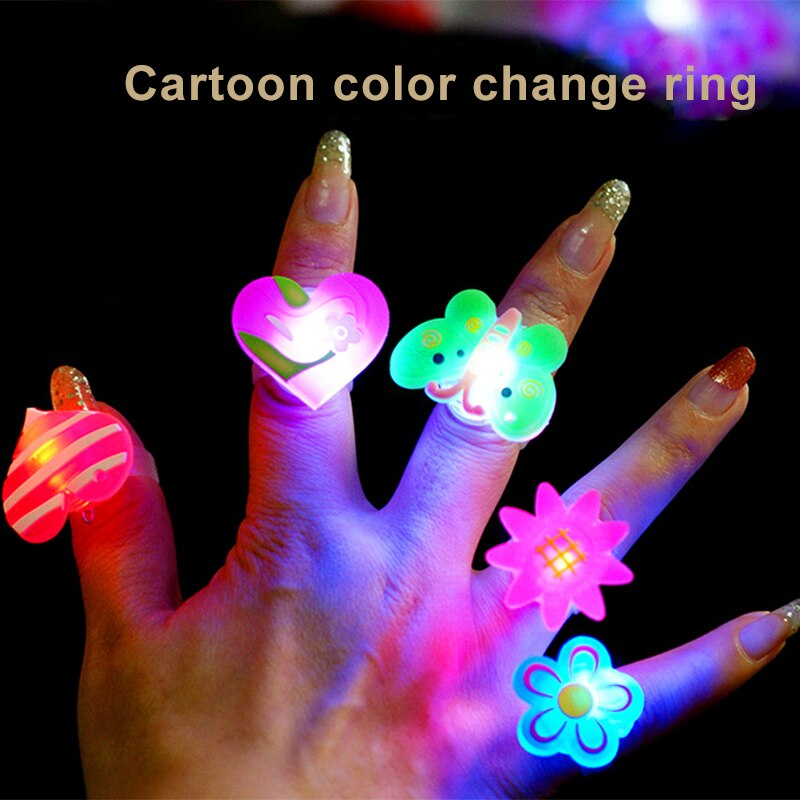 Glowing Toy Rings