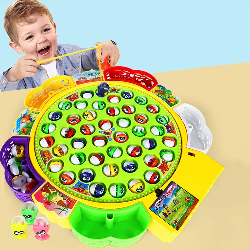 Rotating Fishing Game