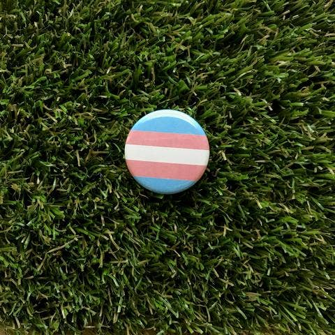 Transgender Pride Flag Button