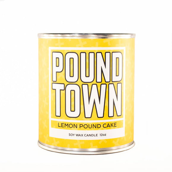 Pound Town Candle