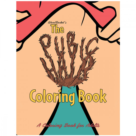 WoodRocket Pubic Hair Coloring Book