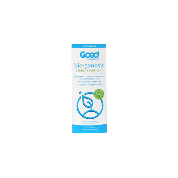 Good Clean Love BioGenesis Fertility Lubricant - 2oz