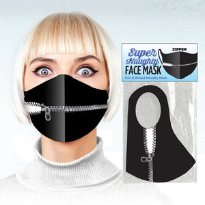 Kinky Zipper Face Mask