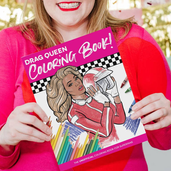 Drag Race Coloring Book