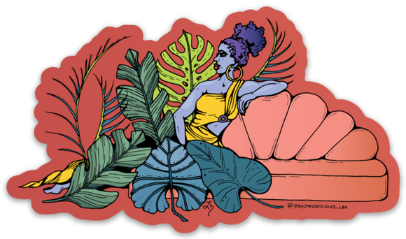 Esther Plant Queen - Sticker