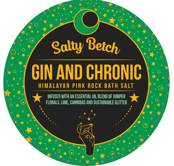 Gin and Chronic Bath Soak - Travel Tin