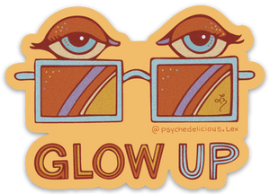 Glow Up - Sticker