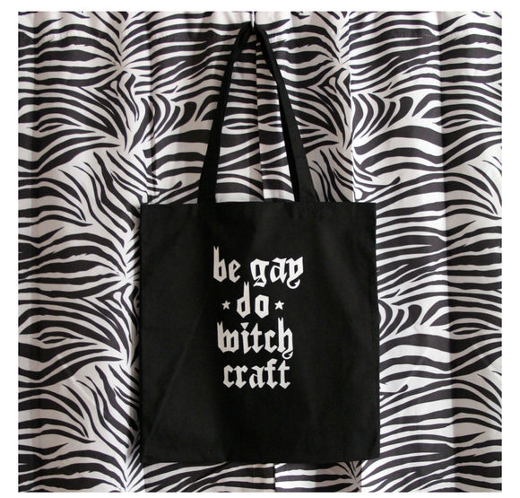 Be Gay Do Witch Craft Tote