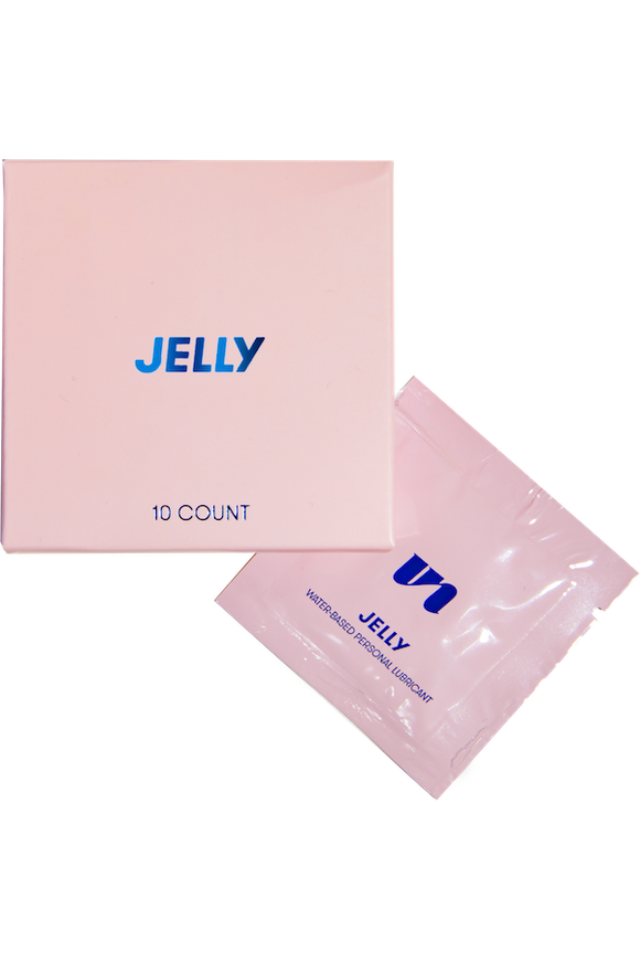 Jelly water-based lubricant by Unbound