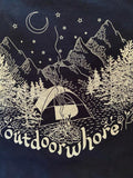 Outdoor Whore Tee by Reesabobeesa