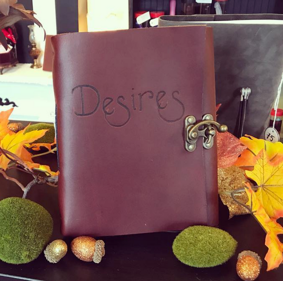 Talisman Leather 'Desires' Journal