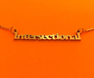 Intersectional Gold Necklace